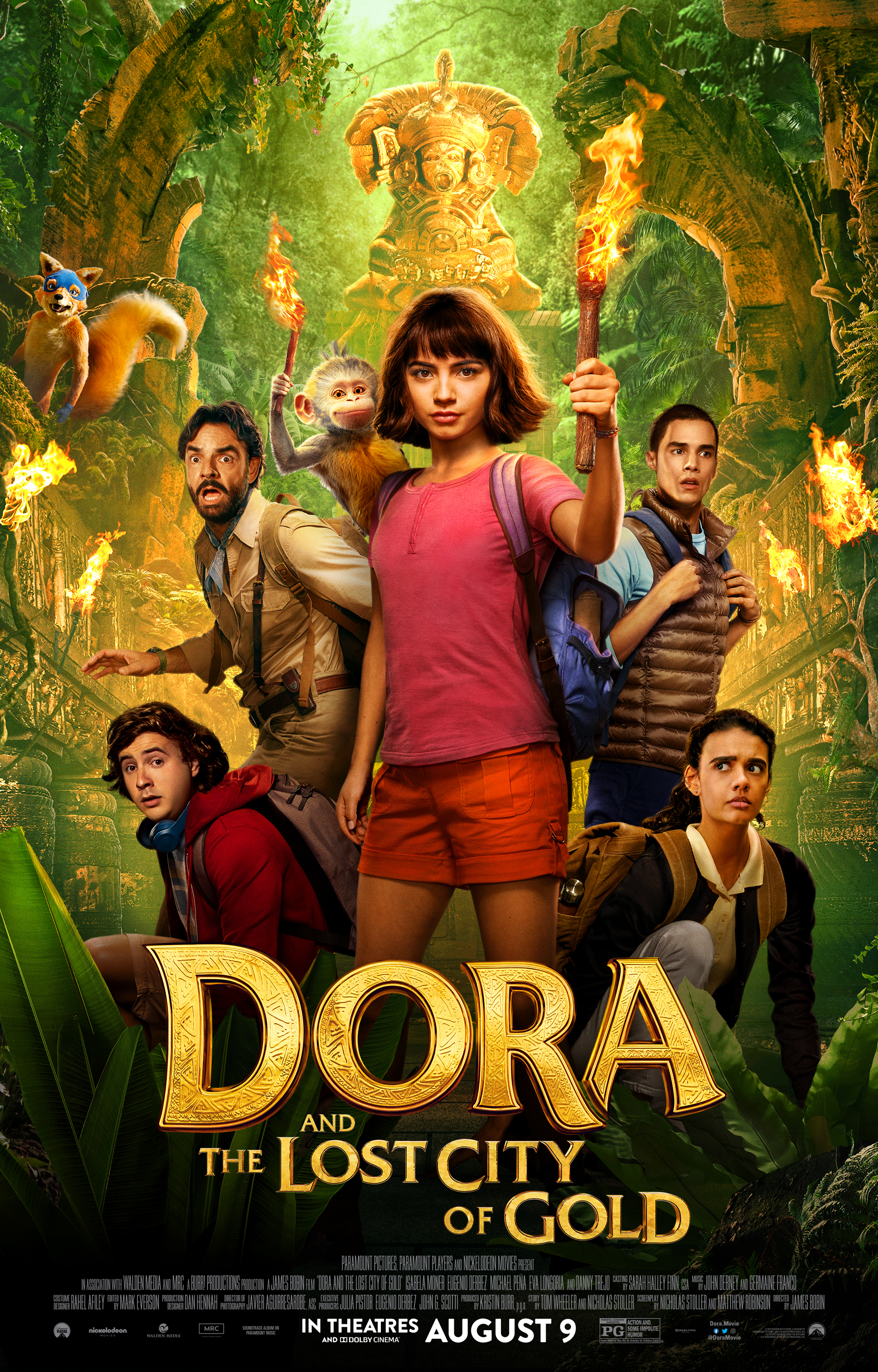 Dora the Explorer and the Lost City of Gold (2019) HD