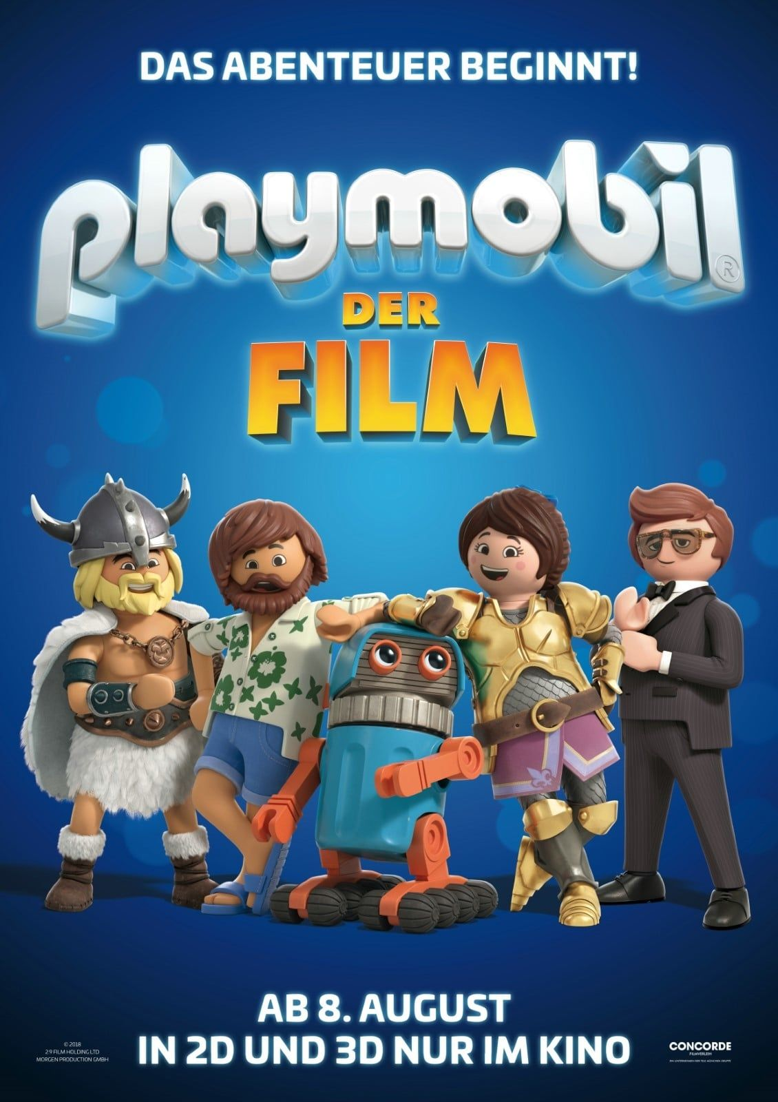 Playmobil The Movie (2019) hd